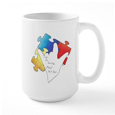 Deaf Autism Coffee Mug
