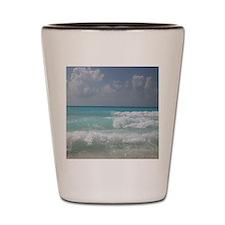 Cool Seashore Shot Glass