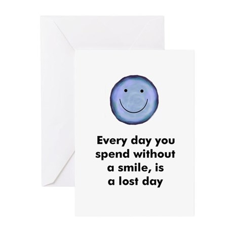 Every day you spend without a Greeting Cards (Pack