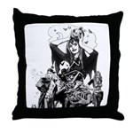 CUTE! Nocturnals Halloween Girl Throw Pillow