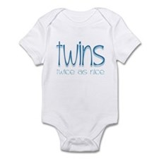 Twins - Twice as Nice Infant Creeper