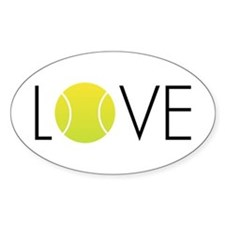 Tennis LOVE ALL Decal