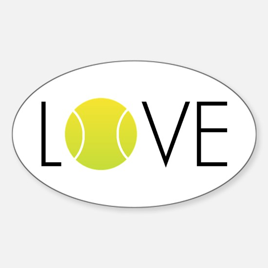 Tennis LOVE ALL Decal