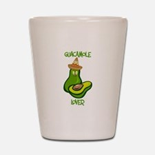 Guacamole Lover Shot Glass