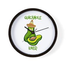 Guacamole Lover Wall Clock