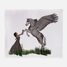 The Offering Throw Blanket