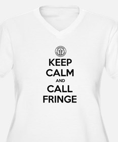 Keep Calm and Call Fringe Plus Size T-Shirt