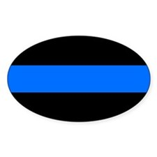 the thin blue line Stickers
