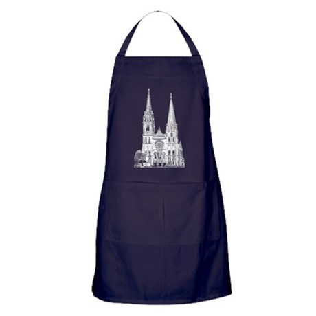 Chartres Cathedral Apron (dark)