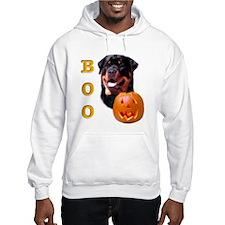 Halloween Rottie Boo Hoodie