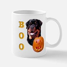 Halloween Rottie Boo Mug