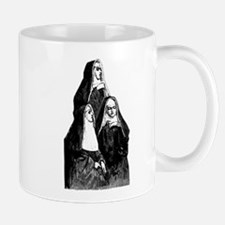 Vintage Illustration Of Nuns Mug