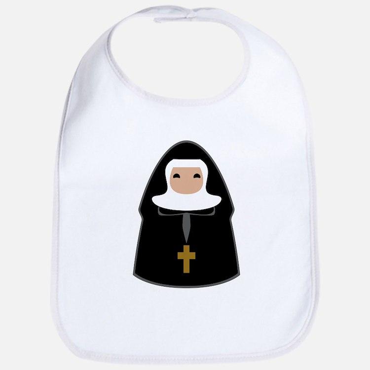 Cute Nun Bib