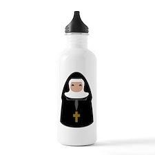 Cute Nun Water Bottle