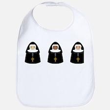 Cute Nuns Bib