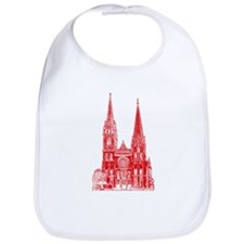 Red Cathedral Graphic Bib