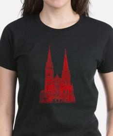 Red Cathedral Graphic Tee