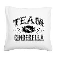 Team Cinderella Square Canvas Pillow