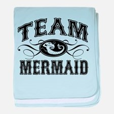 Team Mermaid baby blanket