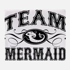 Team Mermaid Throw Blanket