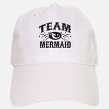 Team Mermaid Baseball Baseball Cap