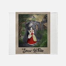 Snow White Throw Blanket