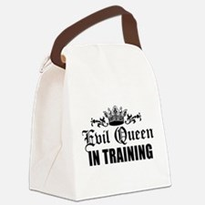 Evil Queen In Training Canvas Lunch Bag