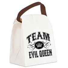 Team Evil Queen Canvas Lunch Bag