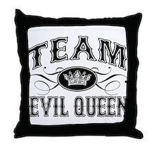 Team Evil Queen Throw Pillow