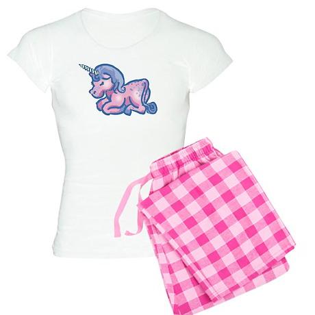 Cute Unicorn Women's Light Pajamas