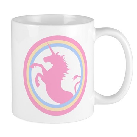 Retro Pink Unicorn Mug