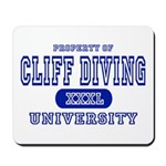 Cliff Diving University Mousepad
