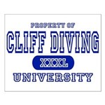 Cliff Diving University Small Poster