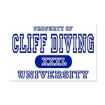 Cliff Diving University Mini Poster Print
