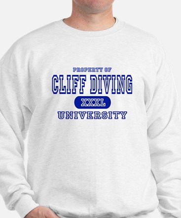 Cliff Diving University Sweatshirt