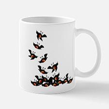 Falling Blackbirds Mug