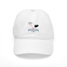 Trampoline Bear Baseball Cap