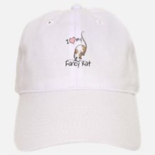 I Love My Fancy Rat Baseball Baseball Cap
