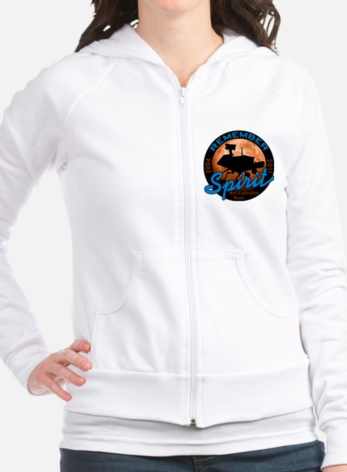 Remember Spirit Rover Fitted Hoodie