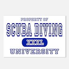 Scuba Diving University Postcards (Package of 8)