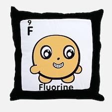 Cute Element Fluorine Throw Pillow