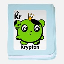 Cute Element Krypton baby blanket