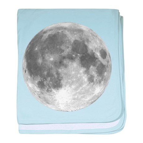 The Moon baby blanket