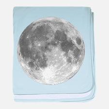 The Moon baby blanket