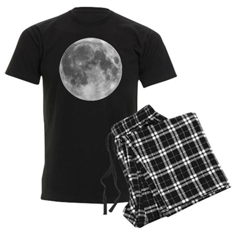 The Moon Men's Dark Pajamas