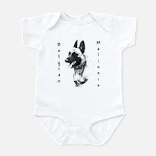 Malinois Charcoal Infant Bodysuit