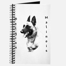 Malinois Charcoal Journal