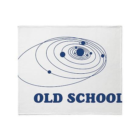 Old school solar system throw blanket by oph3lia for Solar system fleece
