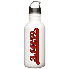 Team Pi Red Sports Water Bottle