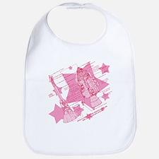 Pink Space Capsule Bib